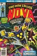 NOVA #1  Cover First app and Origin of Nova