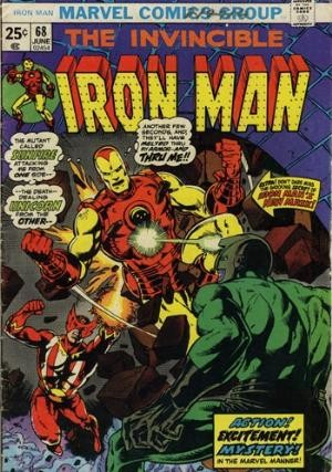 Comic Cover for Iron Man (#68)