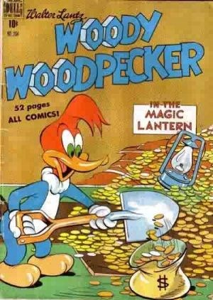 Comic Cover for Woody Woodpecker (Four Color) (#264)