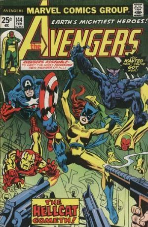Comic Cover for Avengers (#144)