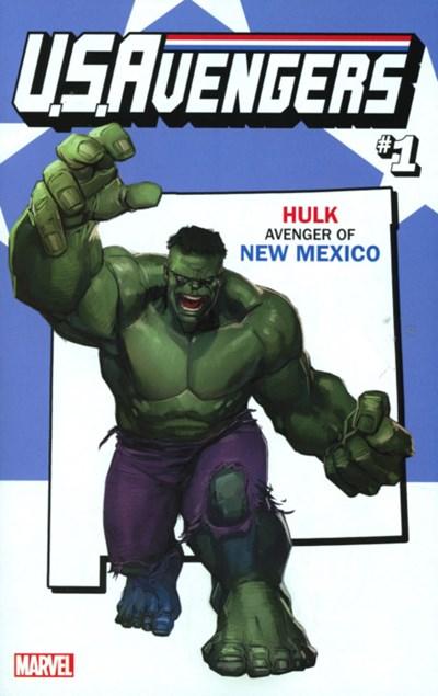 (Marvel) Cover for U.S.Avengers #1 Rod Reis New Mexico State Variant Cover
