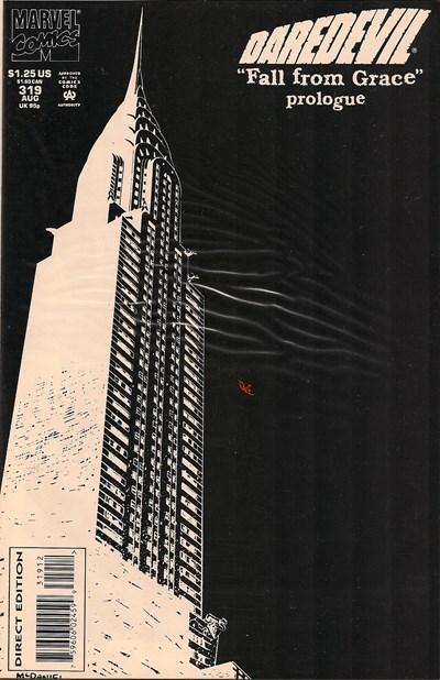 Comic Cover for Daredevil (#319)